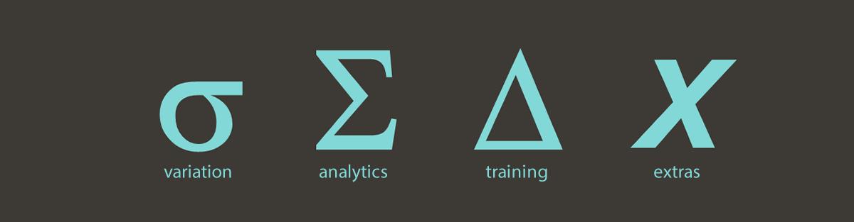 variation | analytics | training | extras